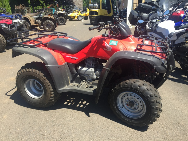 2005 Honda FourTrax Rancher ES, motorcycle listing