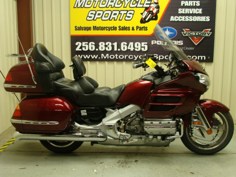 2005 Honda Gold Wing 1800, motorcycle listing