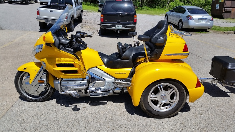 2005 Honda Goldwing, motorcycle listing