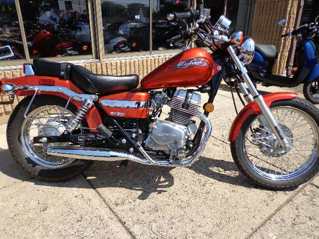 2005 Honda Rebel 250, motorcycle listing