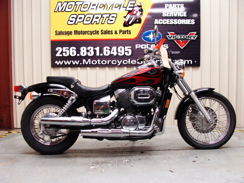 2005 Honda Shadow Spirit 750, motorcycle listing
