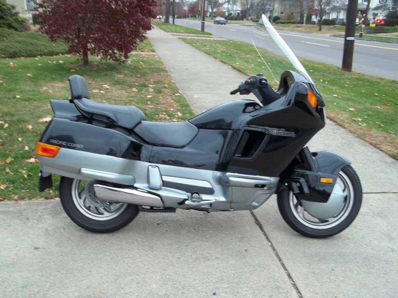 1994 Honda Pacific Coast PC800, motorcycle listing