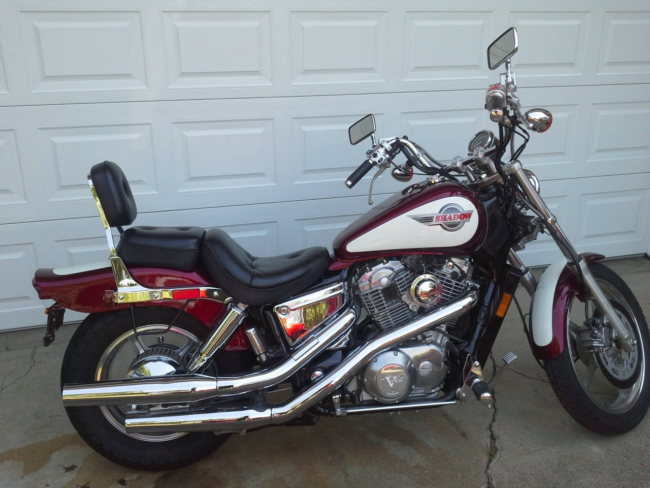 1994 Honda Shadow VT1100, motorcycle listing