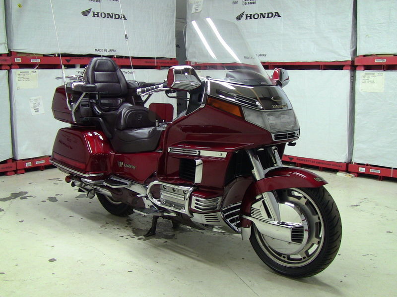 1995 Honda GL1500 GOLDWING 20TH ANNIVERSARY ASPENCA, motorcycle listing