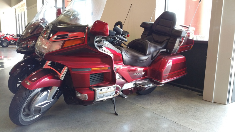 1995 Honda Gold Wing 1500, motorcycle listing