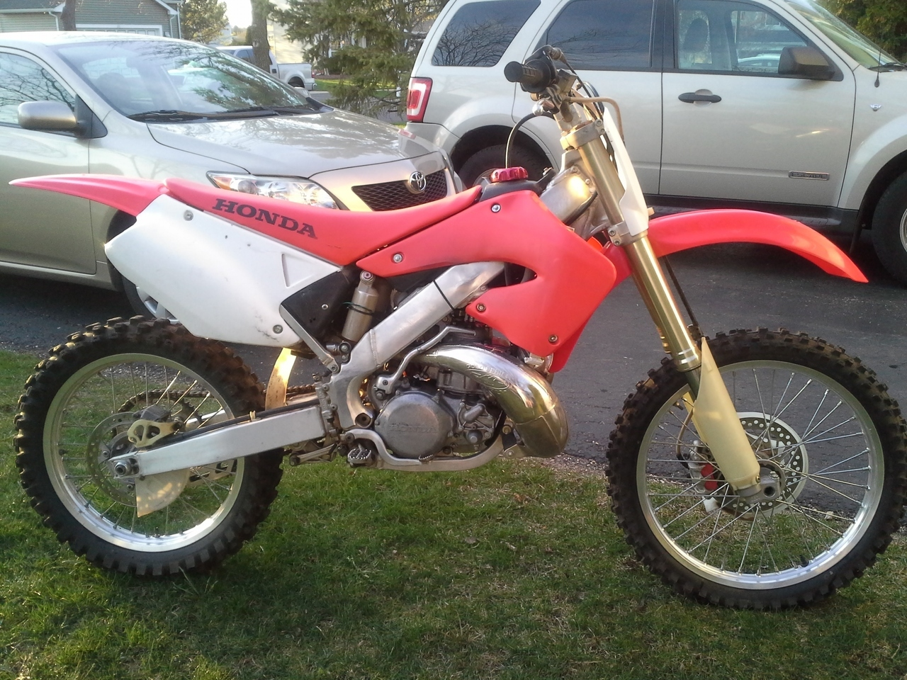 2000 Honda Cr Series 250R, motorcycle listing