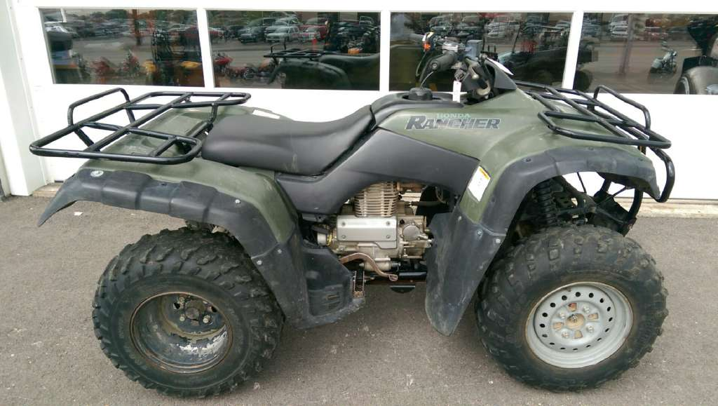 2000 Honda FourTrax Rancher, motorcycle listing