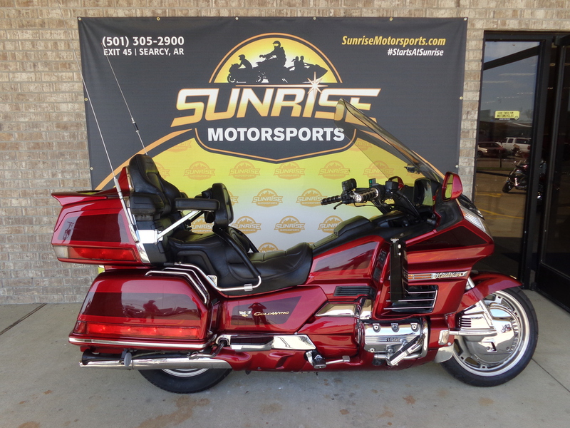2000 Honda Goldwing 1500 SE, motorcycle listing