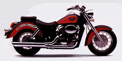 2000 Honda Shadow Ace 750 Deluxe, motorcycle listing
