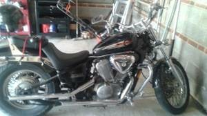 2000 Honda Shadow VLX600, motorcycle listing