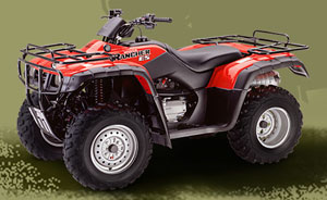 2001 Honda FourTrax Rancher 4X4 ES, motorcycle listing