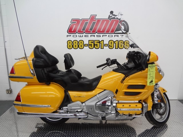 2001 Honda Goldwing, motorcycle listing