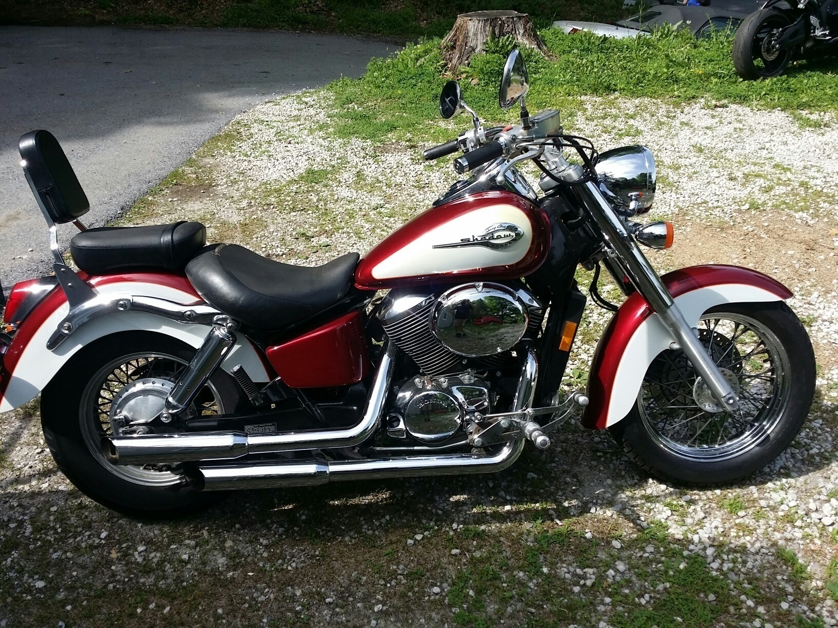2001 Honda SHADOW ACE 750 , motorcycle listing