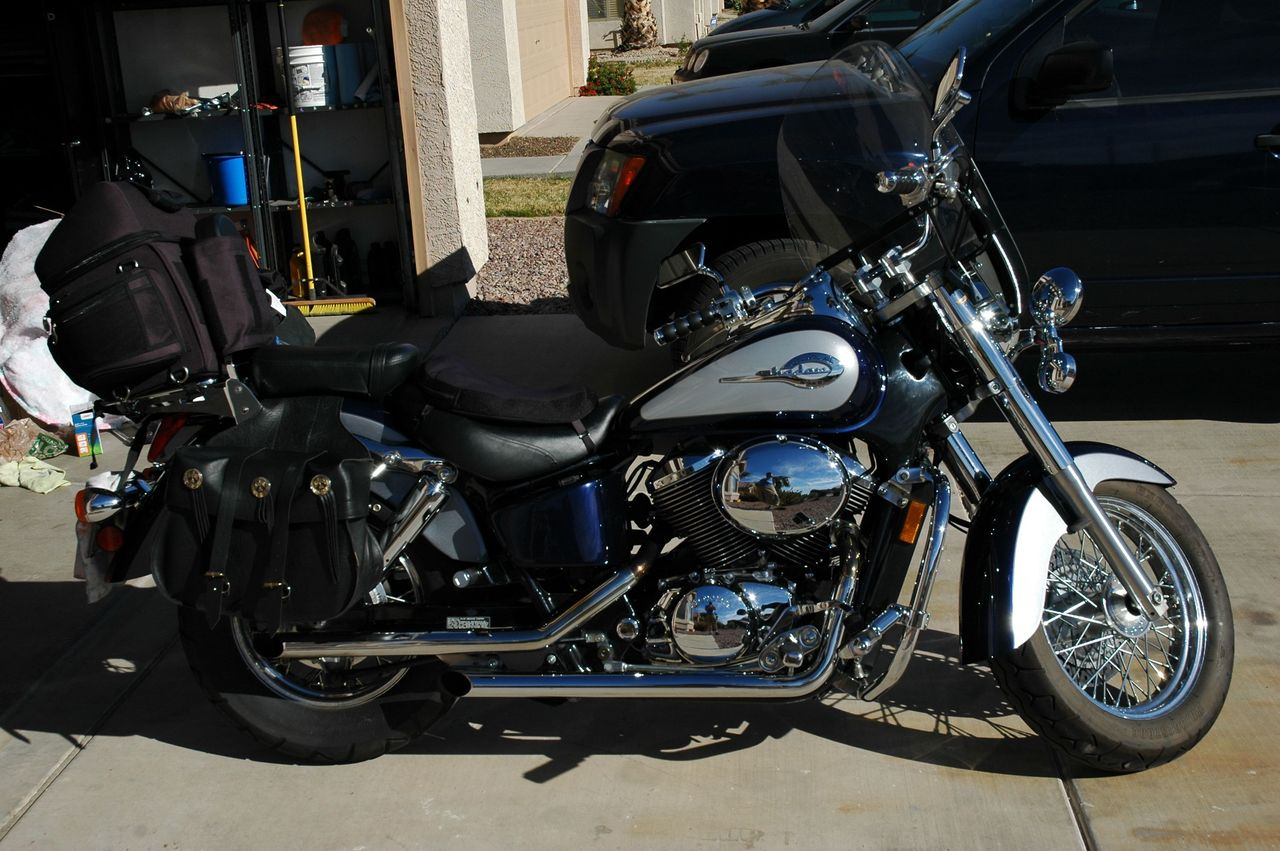 2001 Honda Shadow ACE, motorcycle listing