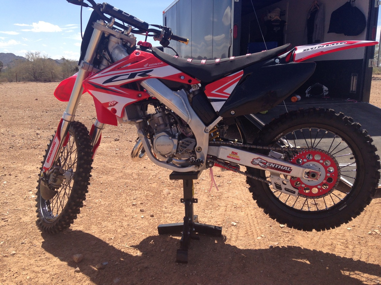 2002 Honda Cr Series 125R5, motorcycle listing