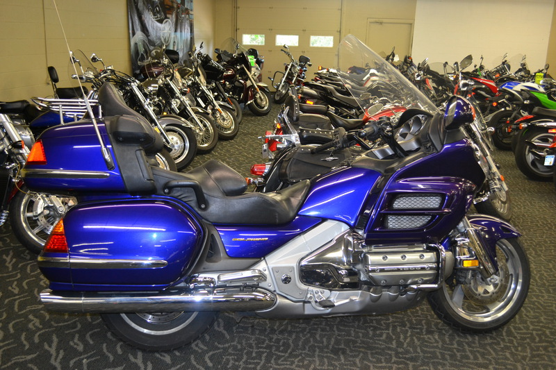 2002 Honda GL 1800 Gold Wing, motorcycle listing