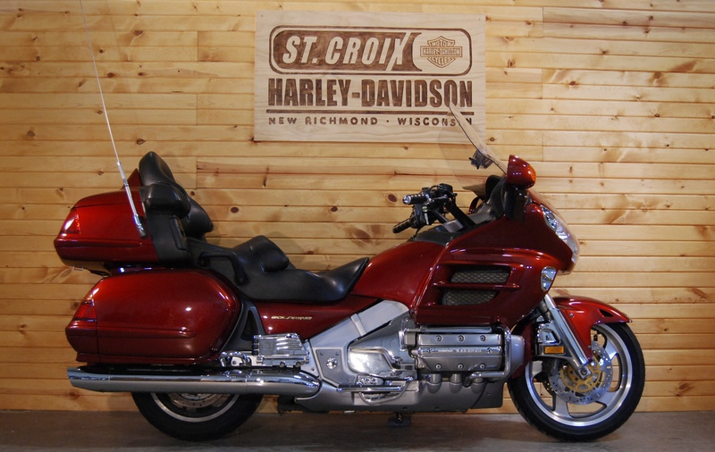 2002 Honda GL-1800 Goldwing, motorcycle listing