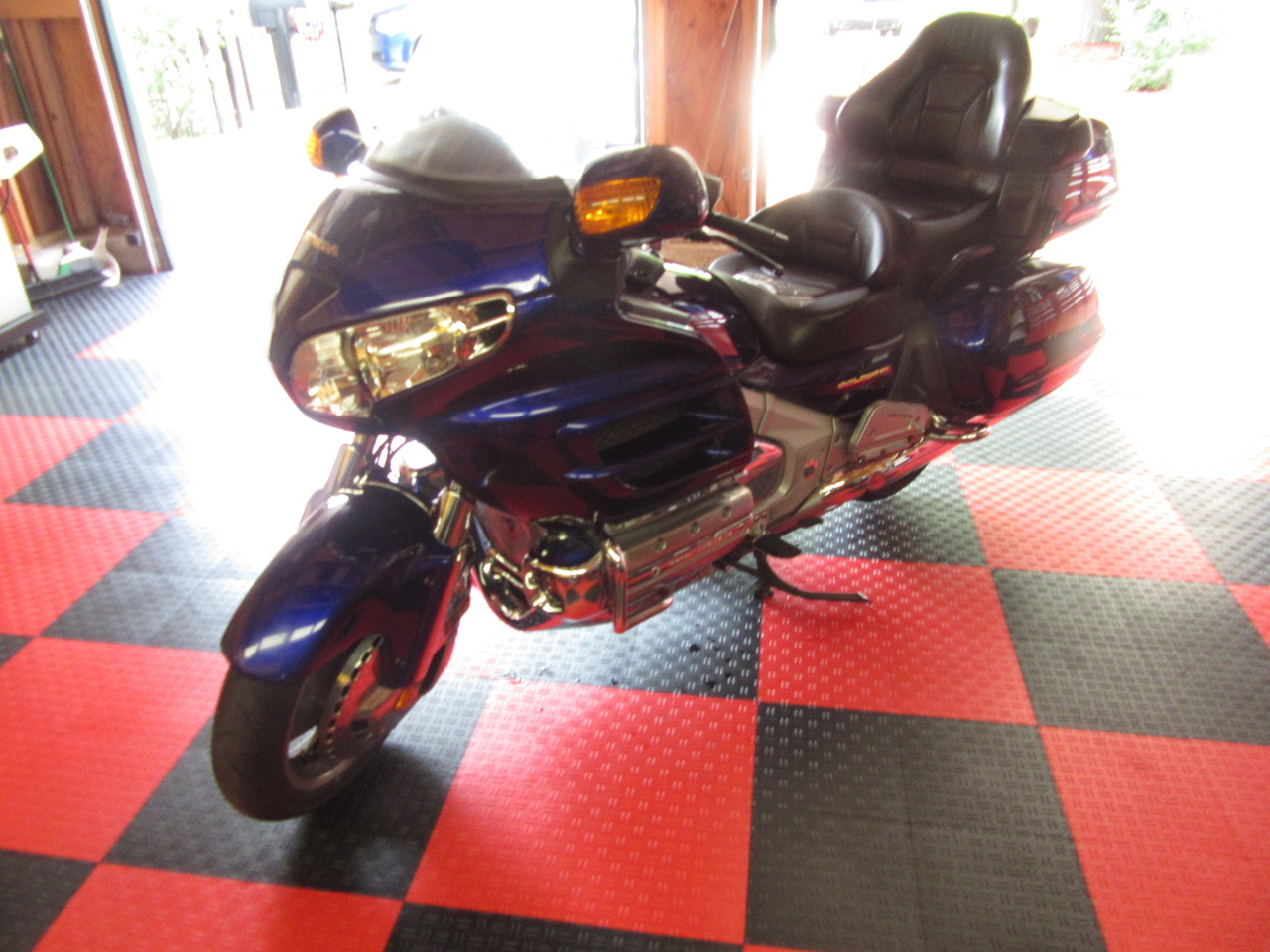 2002 Honda Gold Wing 1800, motorcycle listing