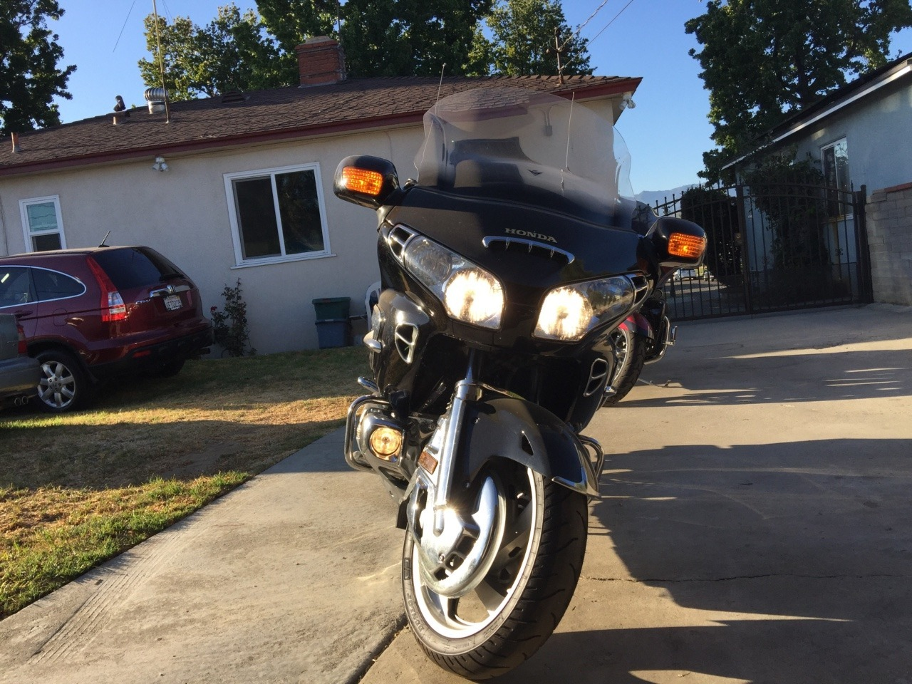 2002 Honda Gold Wing 1800 ABS, motorcycle listing