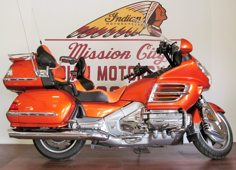2002 Honda Gold Wing Touring, motorcycle listing