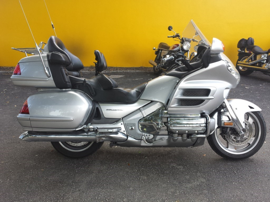 2002 Honda Goldwing ABS, motorcycle listing