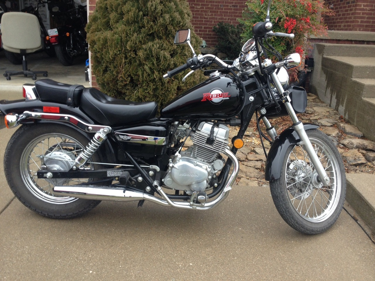 2002 Honda Rebel , motorcycle listing
