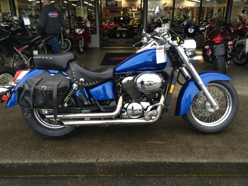 2002 Honda SHADOW, motorcycle listing
