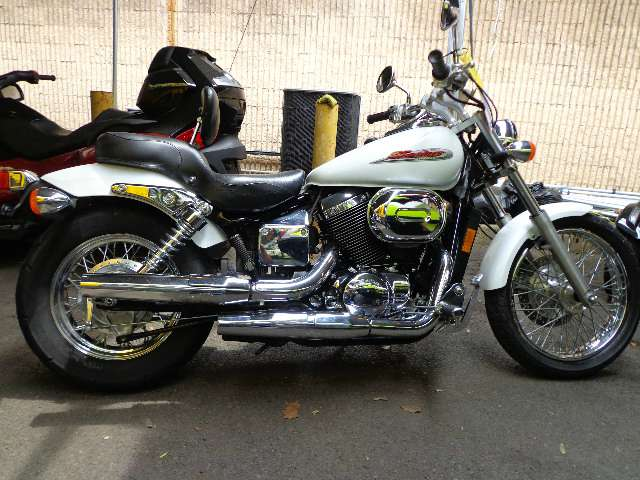 2002 Honda Shadow Spirit 750, motorcycle listing
