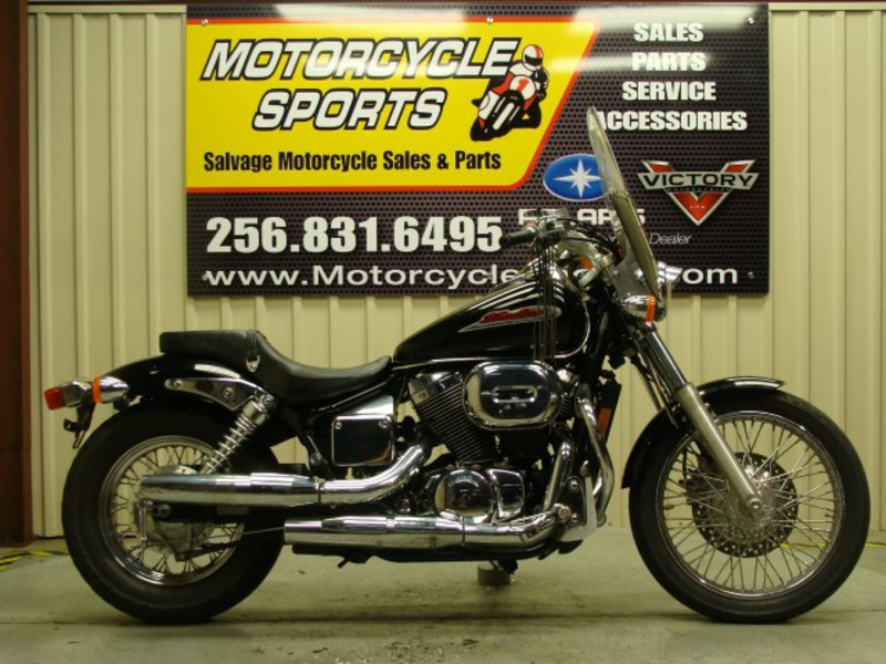 2002 Honda Shadow Spirit, motorcycle listing
