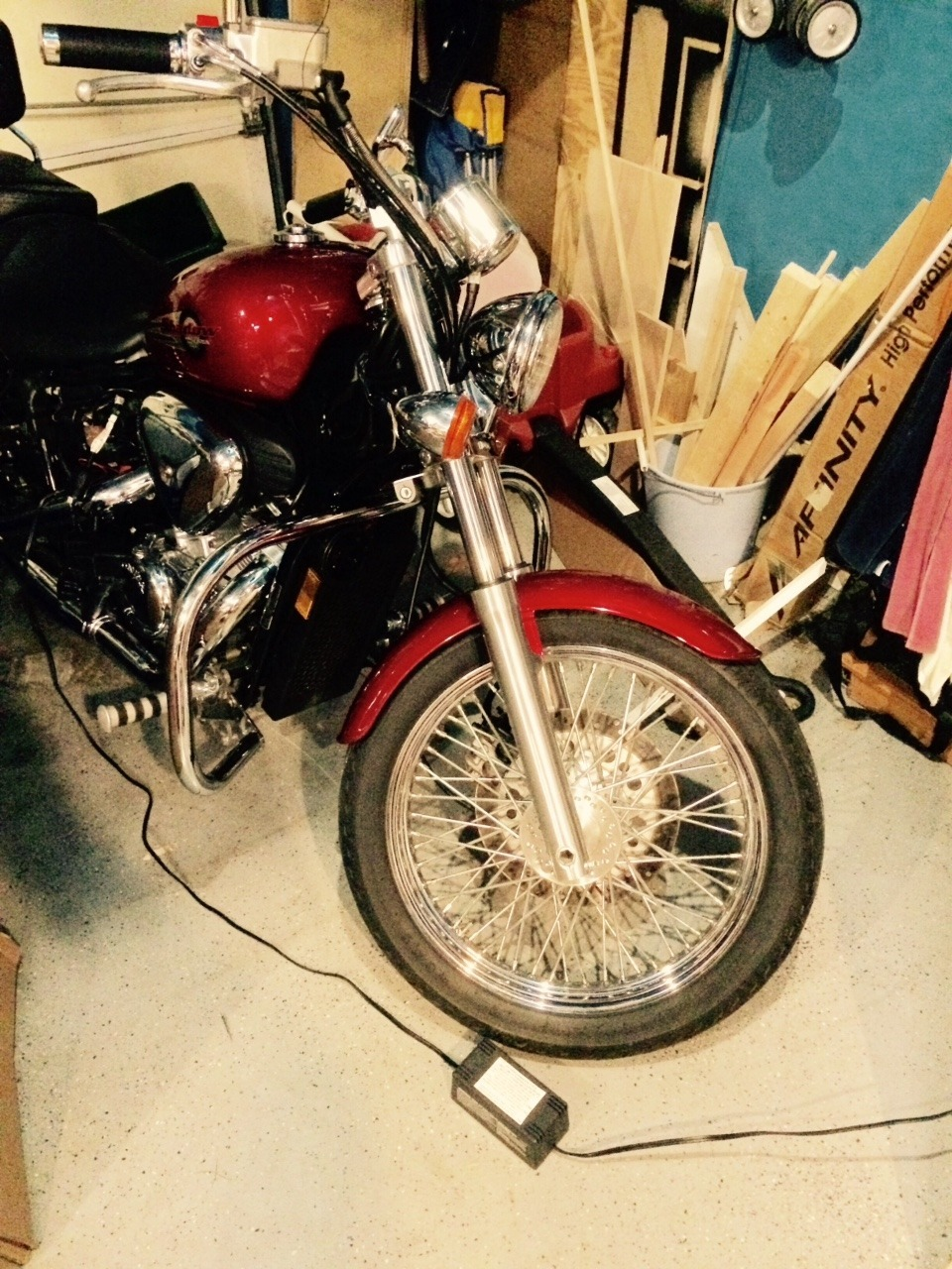 2002 Honda Shadow VLX DELUXE, motorcycle listing