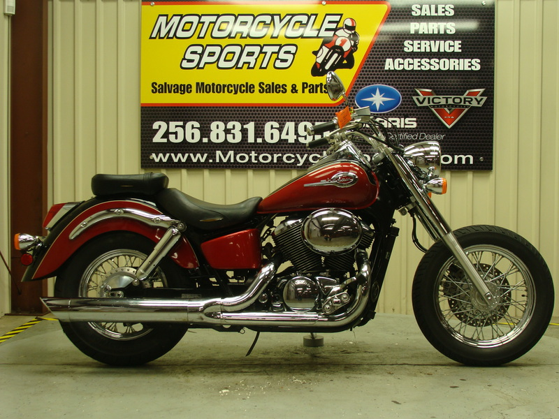 2002 Honda Shadow VT750, motorcycle listing