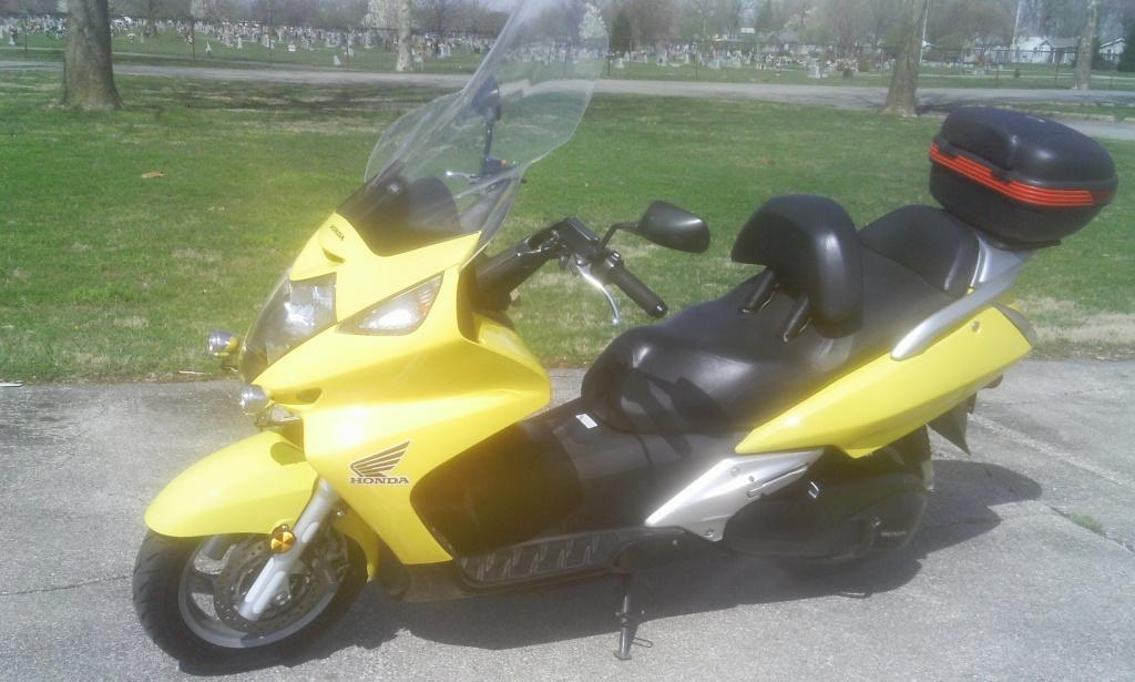 2002 Honda Silver Wing FSC600, motorcycle listing
