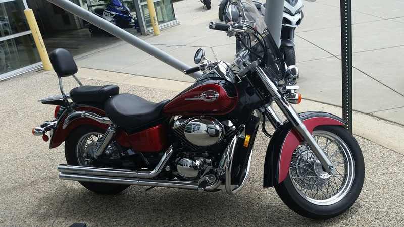 2003 Honda SHADOW AMERICAN CLASSIC EDITION, motorcycle listing