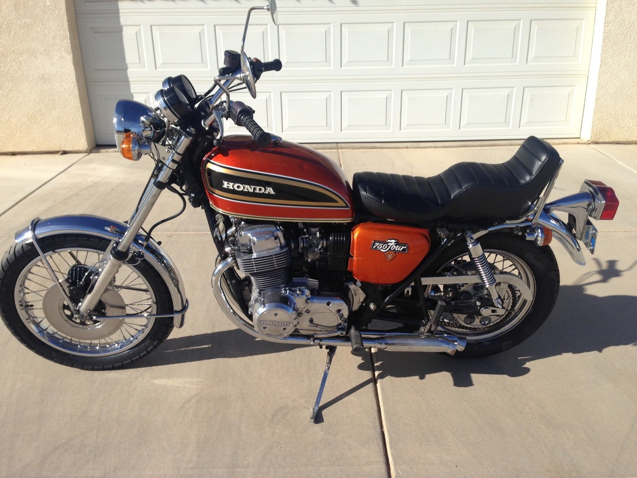 1973 honda cb 750 750 motorcycle from hesperia ca today sale 6 500. Black Bedroom Furniture Sets. Home Design Ideas