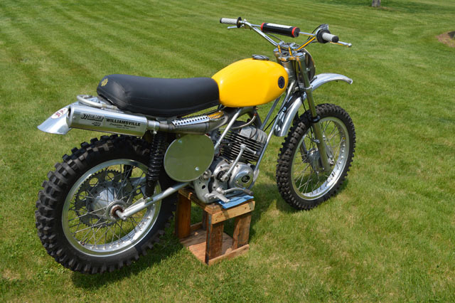 1972 Ajs Stormer 410, motorcycle listing