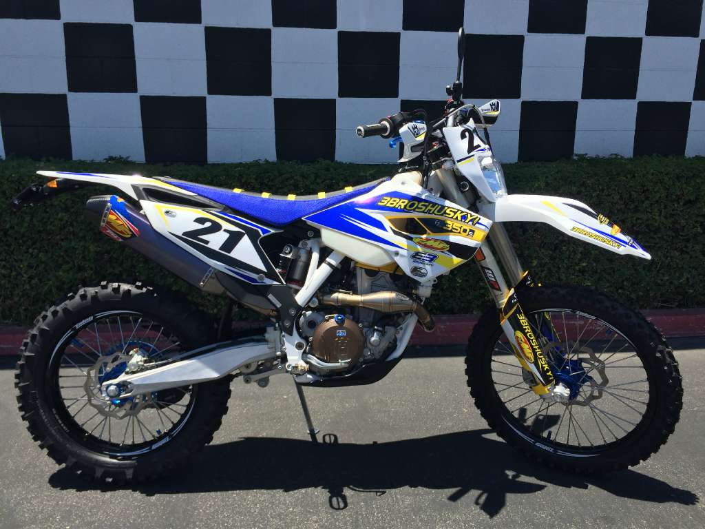 2015 Husqvarna FE 350 S 3Bros Edition, motorcycle listing