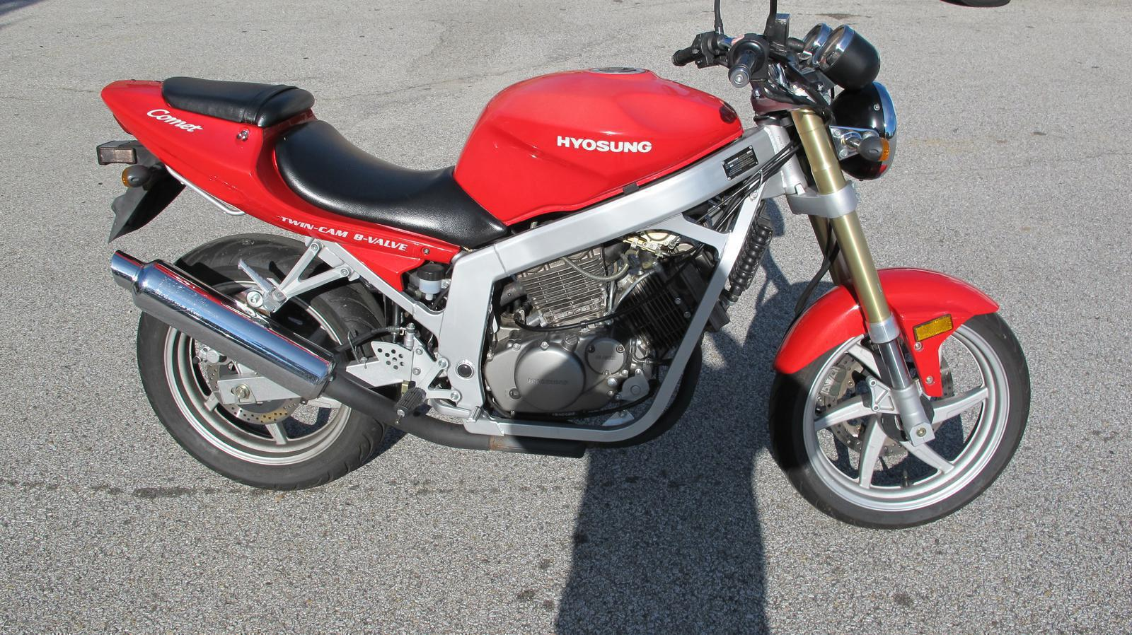 2004 Hyosung GT250, motorcycle listing