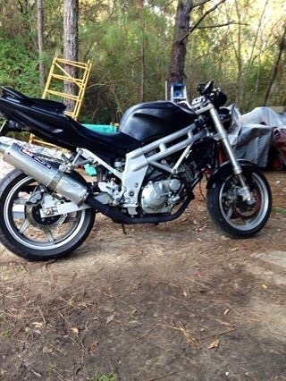 2007 Hyosung Comet , motorcycle listing