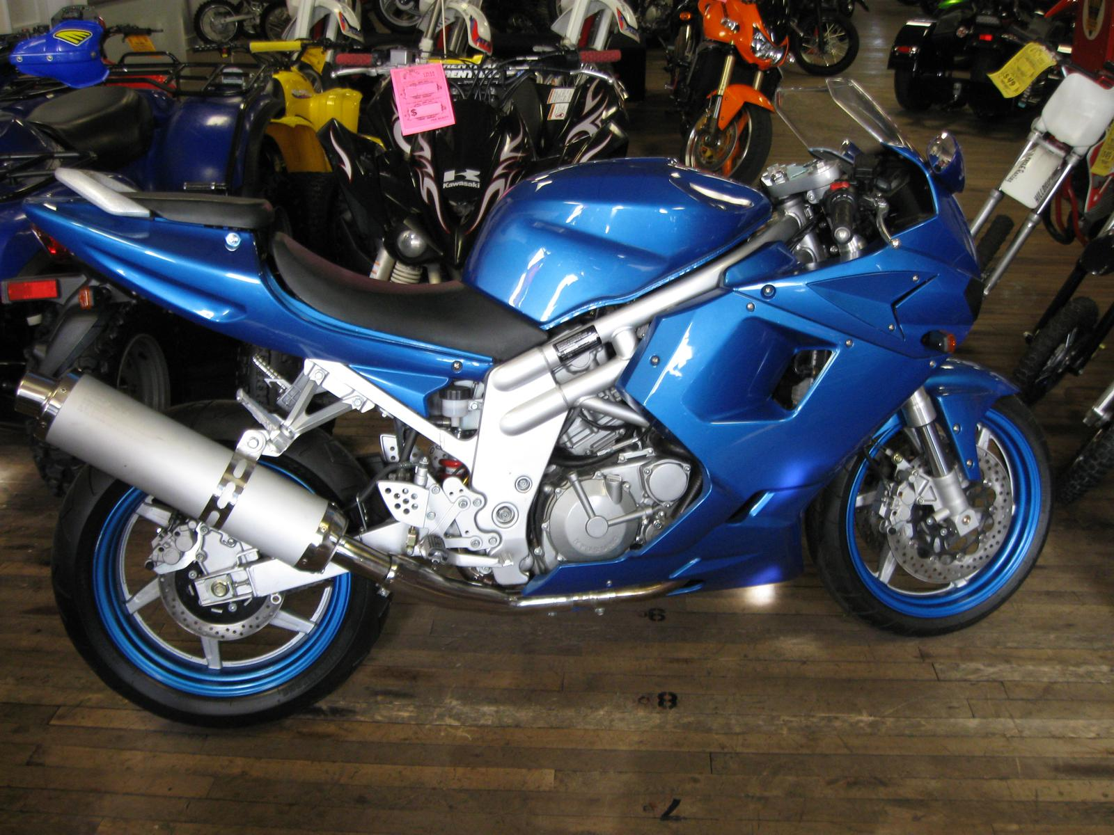 2007 Hyosung GT650R, motorcycle listing