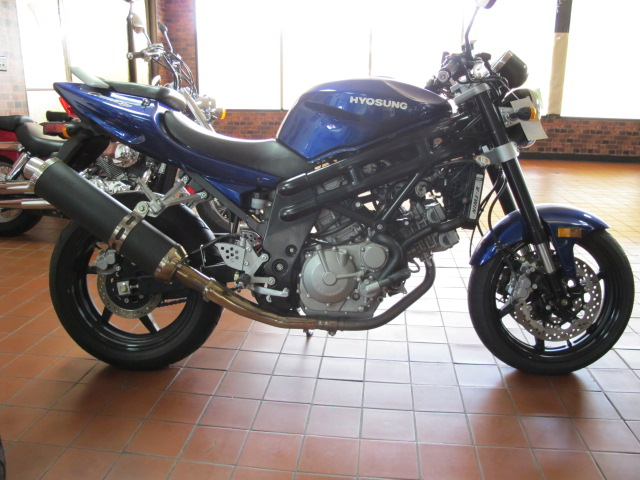2008 Hyosung GT650, motorcycle listing