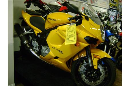 2008 Hyosung GT650R, motorcycle listing