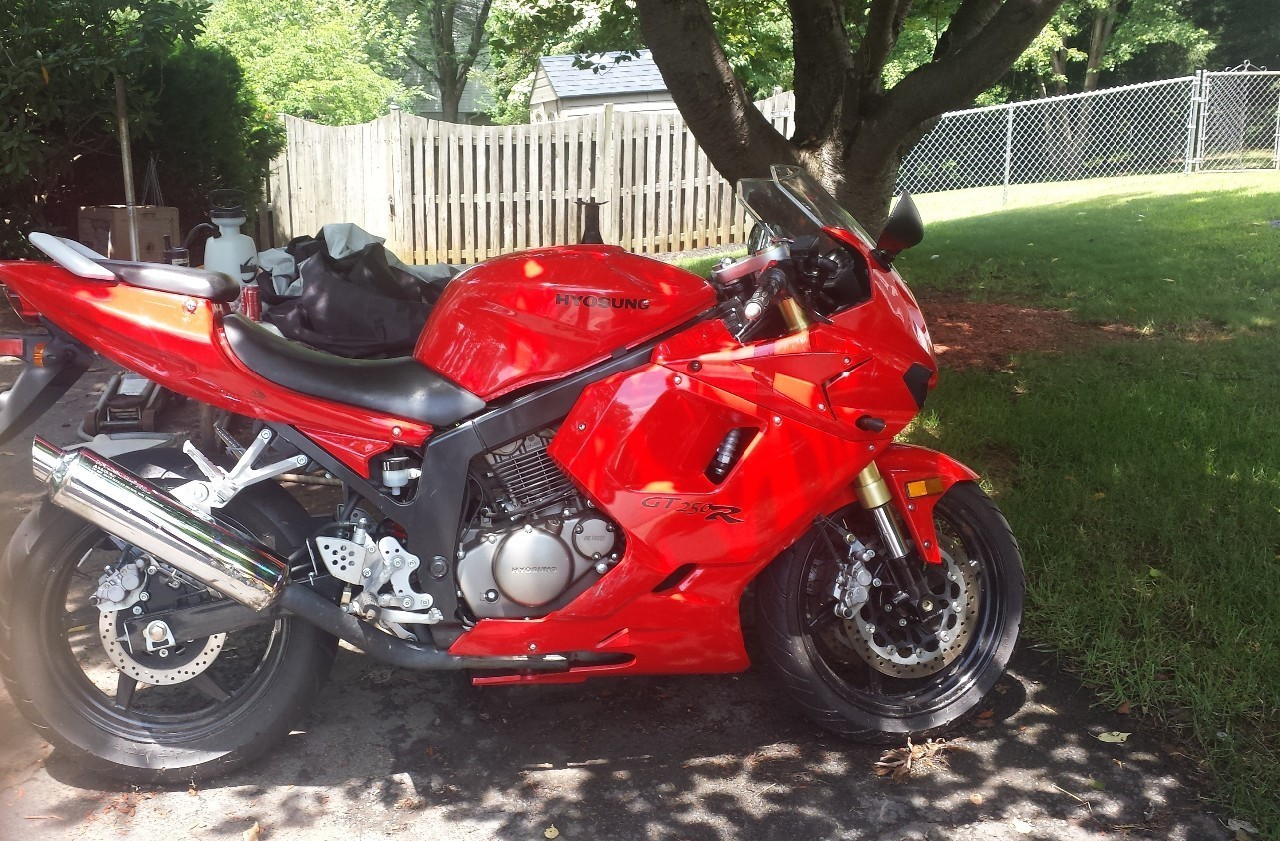 2008 Hyosung Gt250 R, motorcycle listing