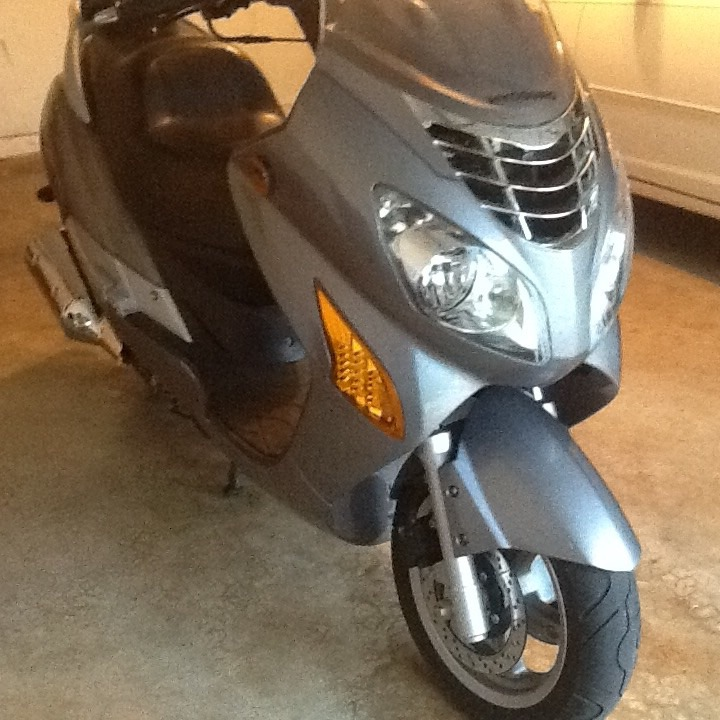 2008 Hyosung Ms3250 , motorcycle listing