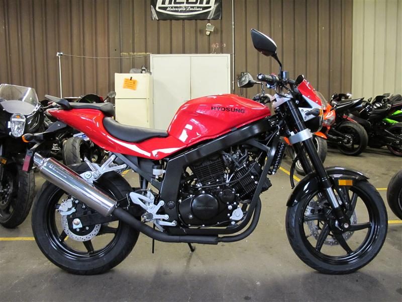 2010 Hyosung GT250, motorcycle listing