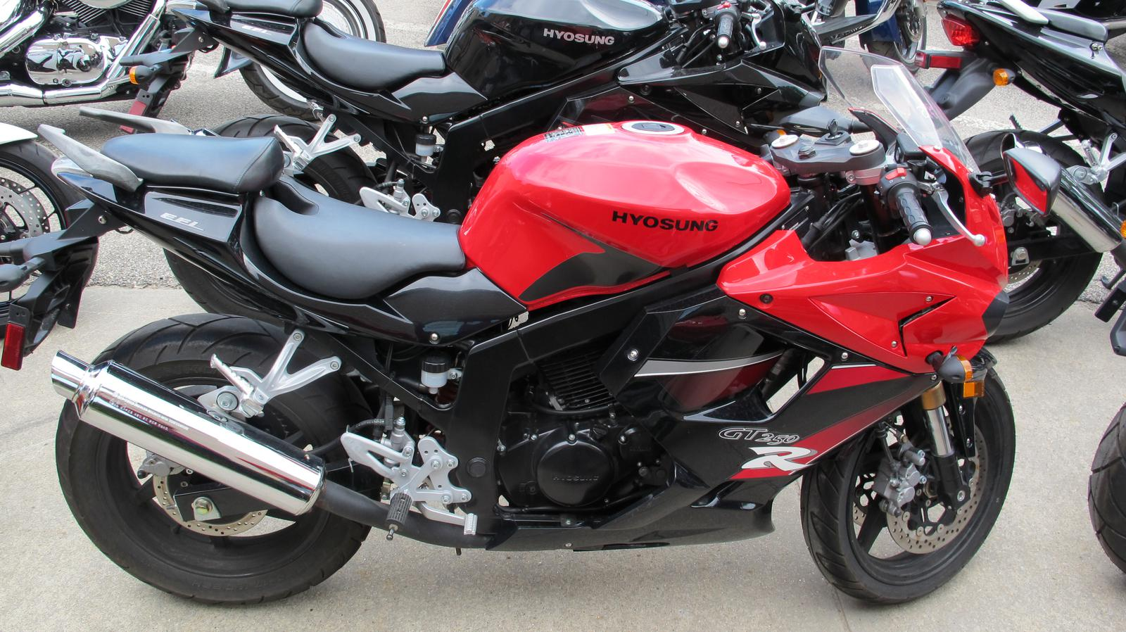 2010 Hyosung GT250R, motorcycle listing