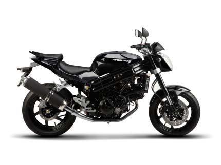 2014 Hyosung GT650, motorcycle listing