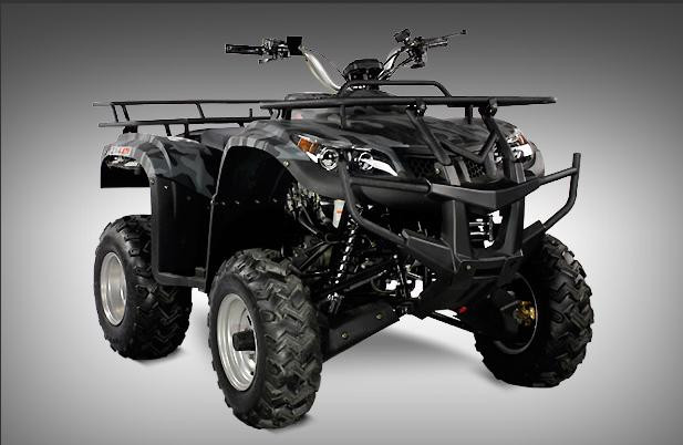 2012 Ice Bear 250cc Utility Monster Hummer (Fully Automatic), motorcycle listing