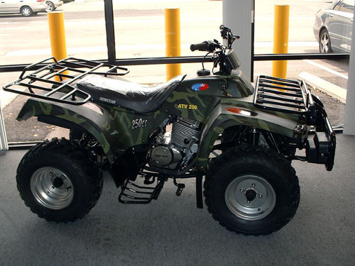 2014 Ice Bear 250cc LG Utility 4 Stroke ATV ON SALE on SaferWholesale, motorcycle listing