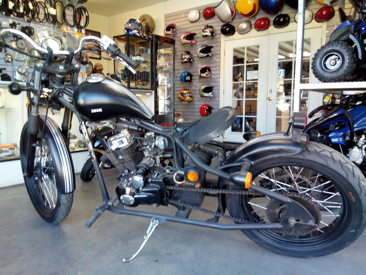 2014 Ice Bear Bobber, motorcycle listing