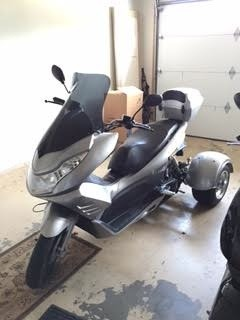 2014 Ice Bear Pst50-1 , motorcycle listing
